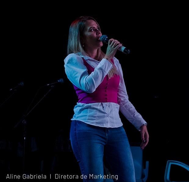 Aline Gabriela Diretora de Marketing da Opis Agência de Publicidade